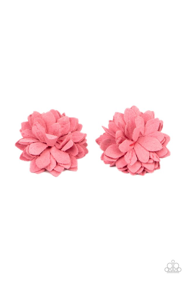 Paper Paradise - Pink - Paparazzi Hair Accessories Image