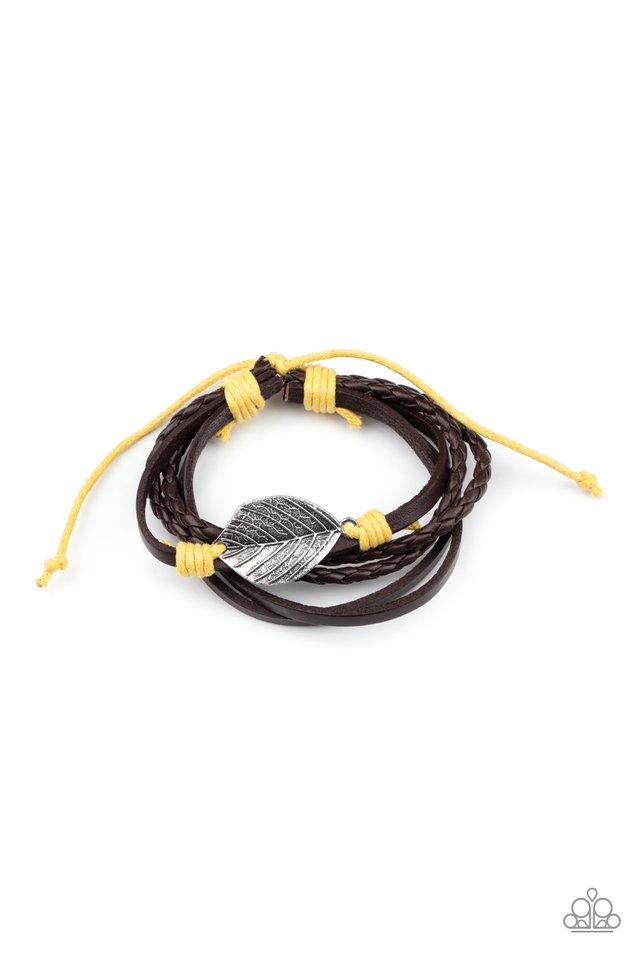 FROND and Center - Yellow - Paparazzi Bracelet Image