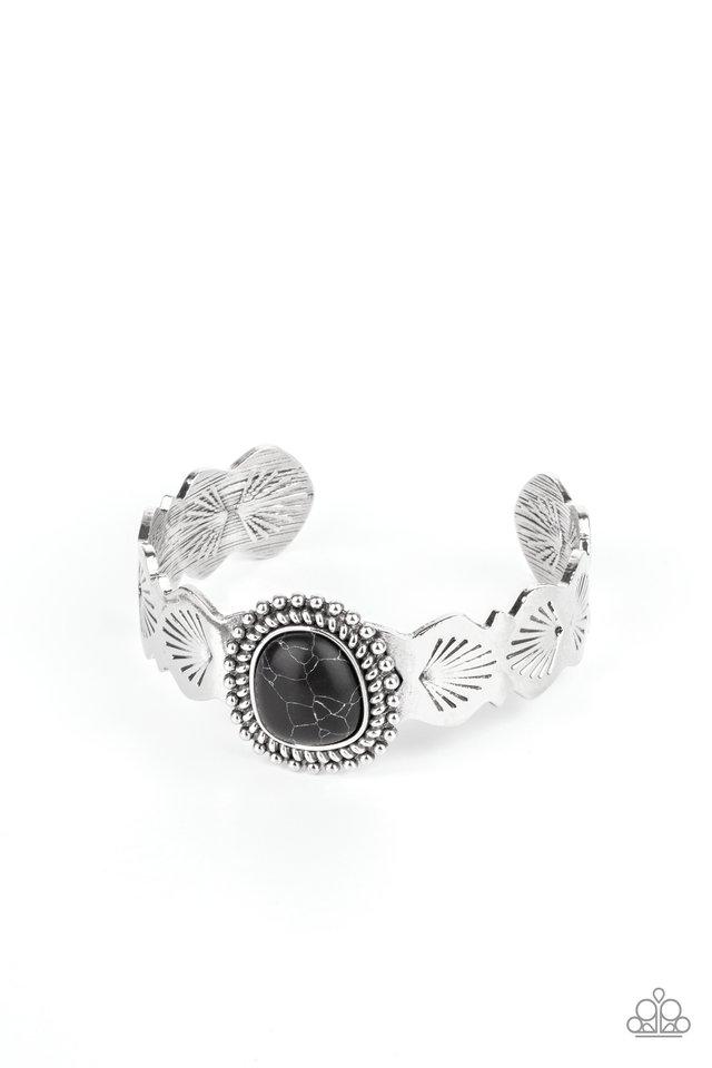 Oceanic Oracle - Black - Paparazzi Bracelet Image