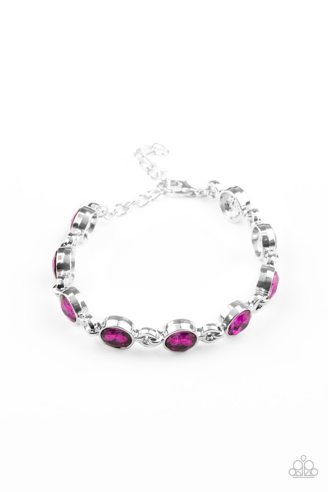 First In Fashion Show - Pink - Paparazzi Bracelet Image