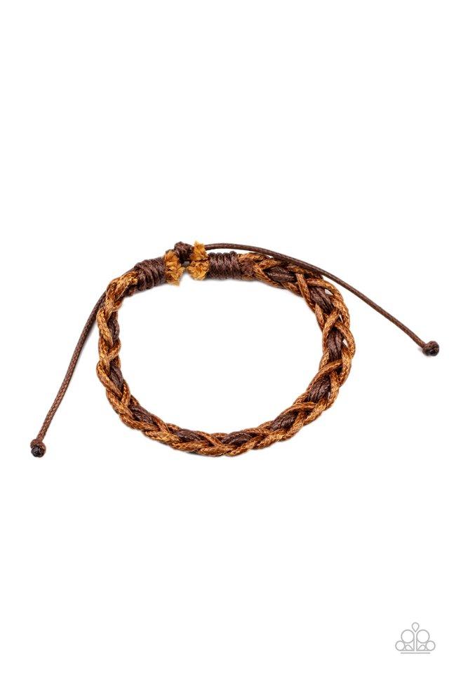 Wanderlust Vibes - Brown - Paparazzi Bracelet Image
