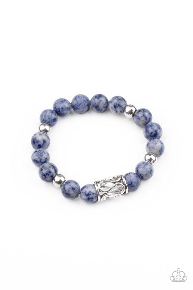 Soothes The Soul - Blue - Paparazzi Bracelet Image