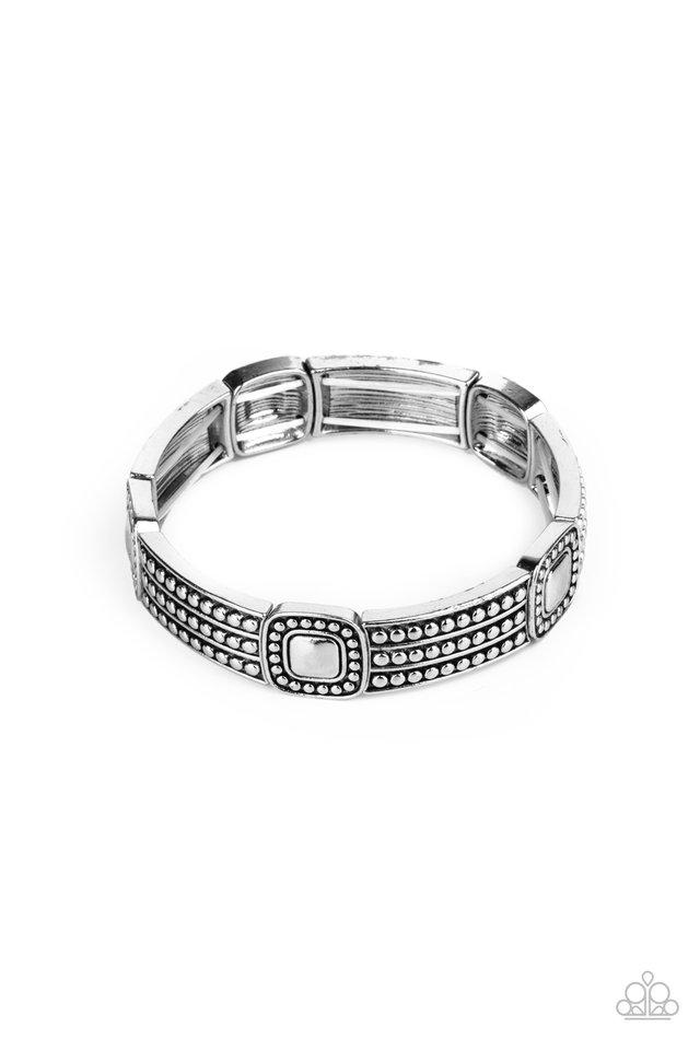 Rustic Redux - Silver - Paparazzi Bracelet Image