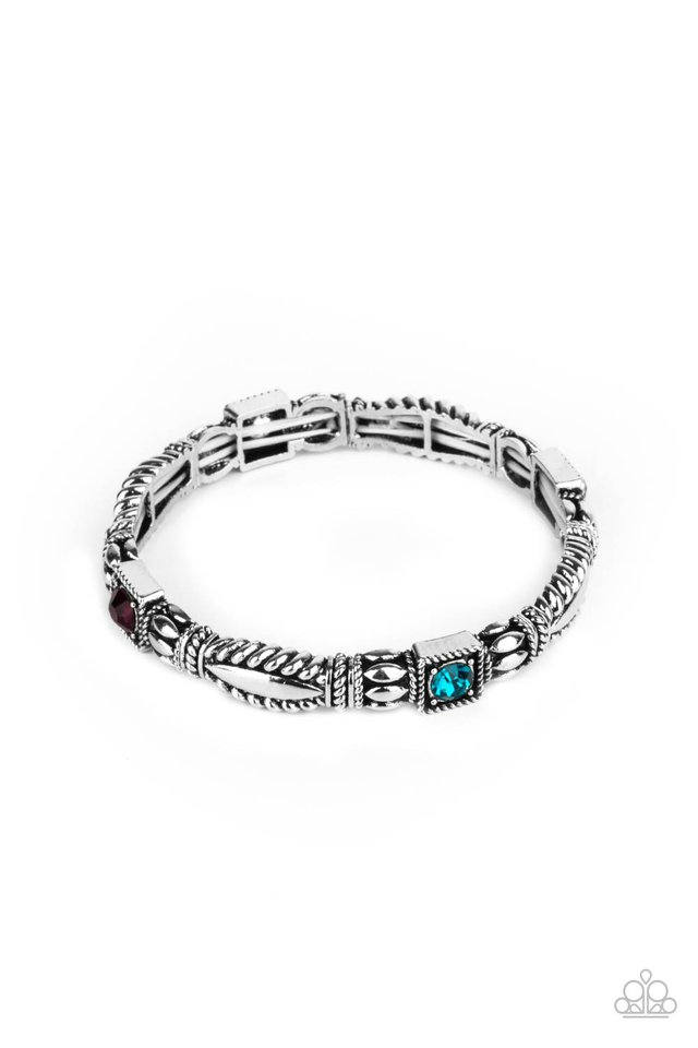 Get This GLOW On The Road - Multi - Paparazzi Bracelet Image