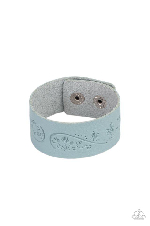 Butterfly Canopy - Blue - Paparazzi Bracelet Image