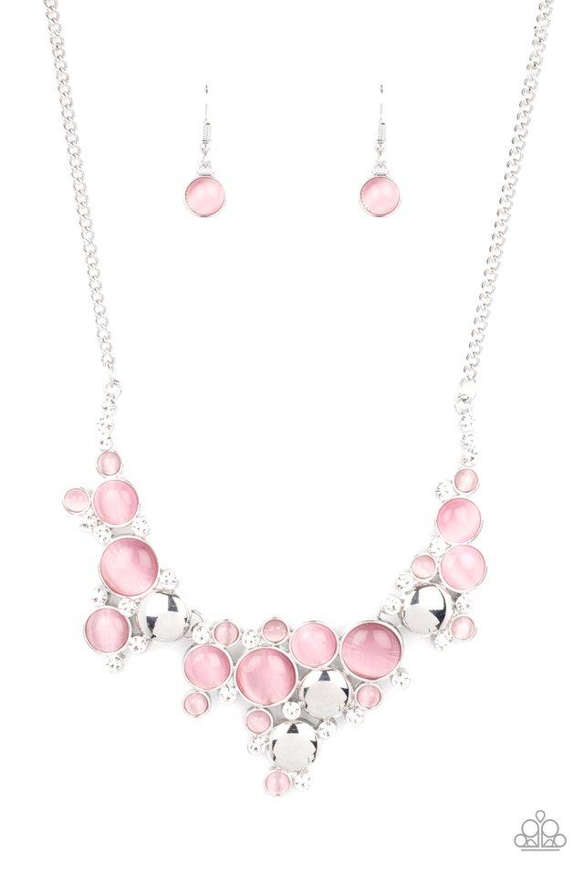 Fairytale Affair - Pink - Paparazzi Necklace Image