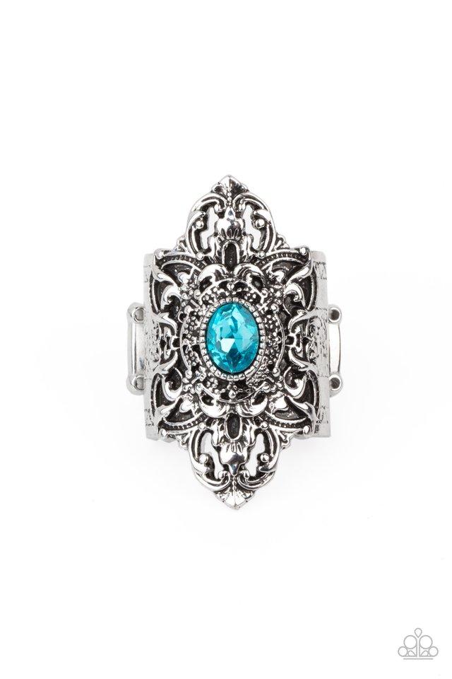 Perennial Posh - Blue - Paparazzi Ring Image