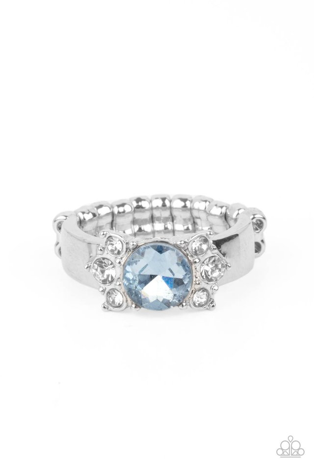 ROYAL Till The End - Blue - Paparazzi Ring Image