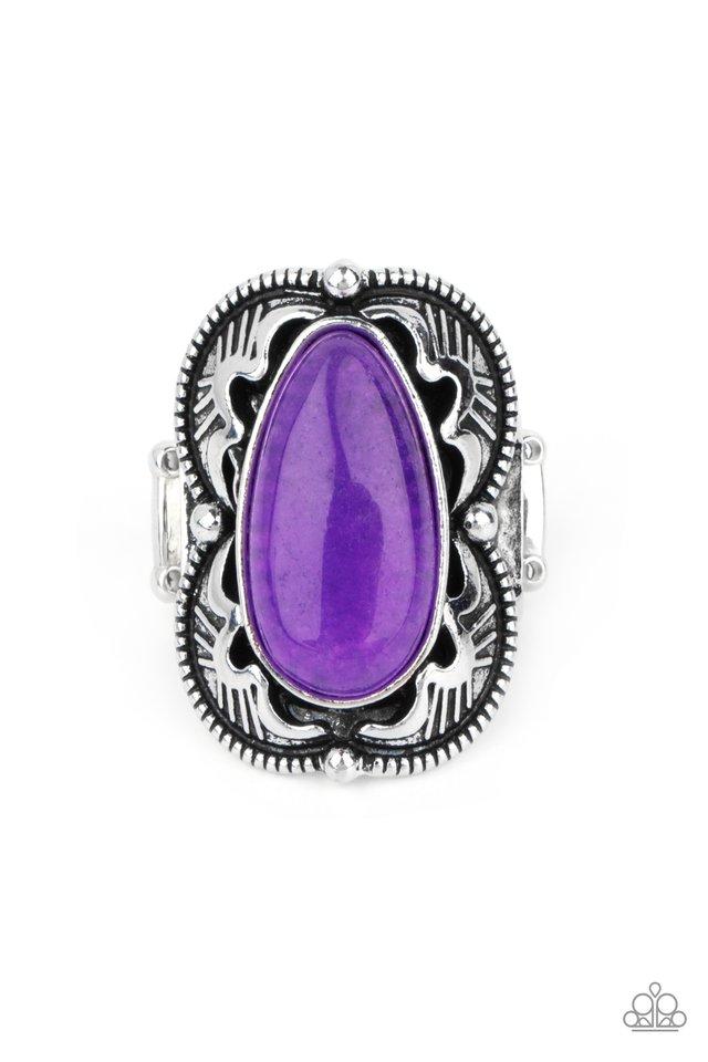 Mystical Mambo - Purple - Paparazzi Ring Image