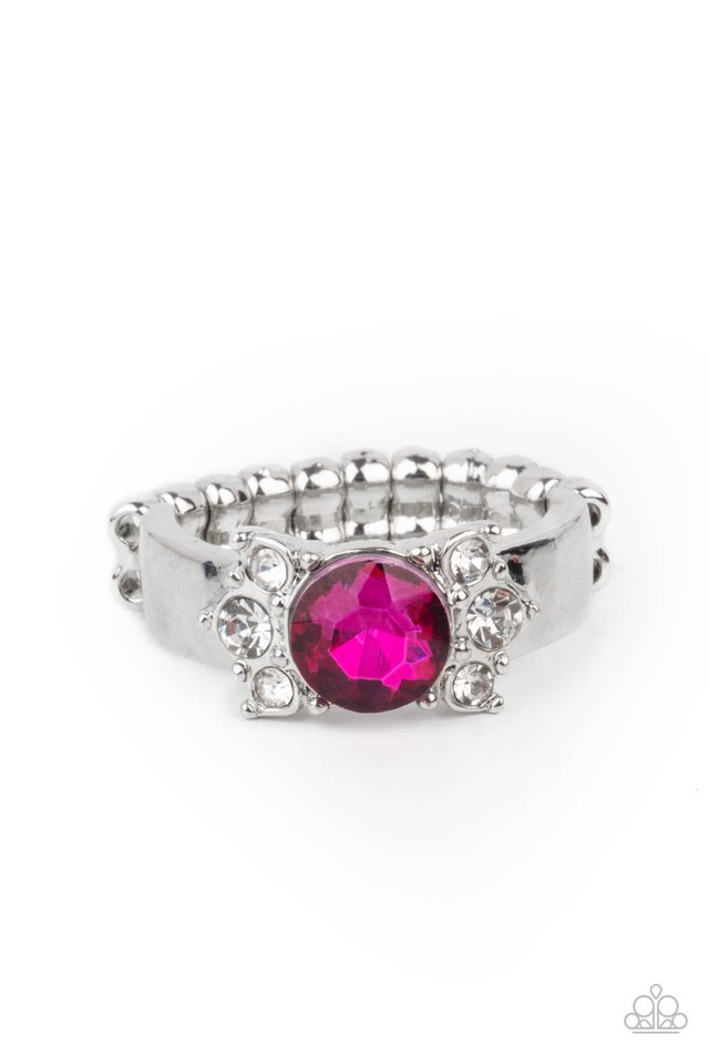 ROYAL Till The End - Pink - Paparazzi Ring Image