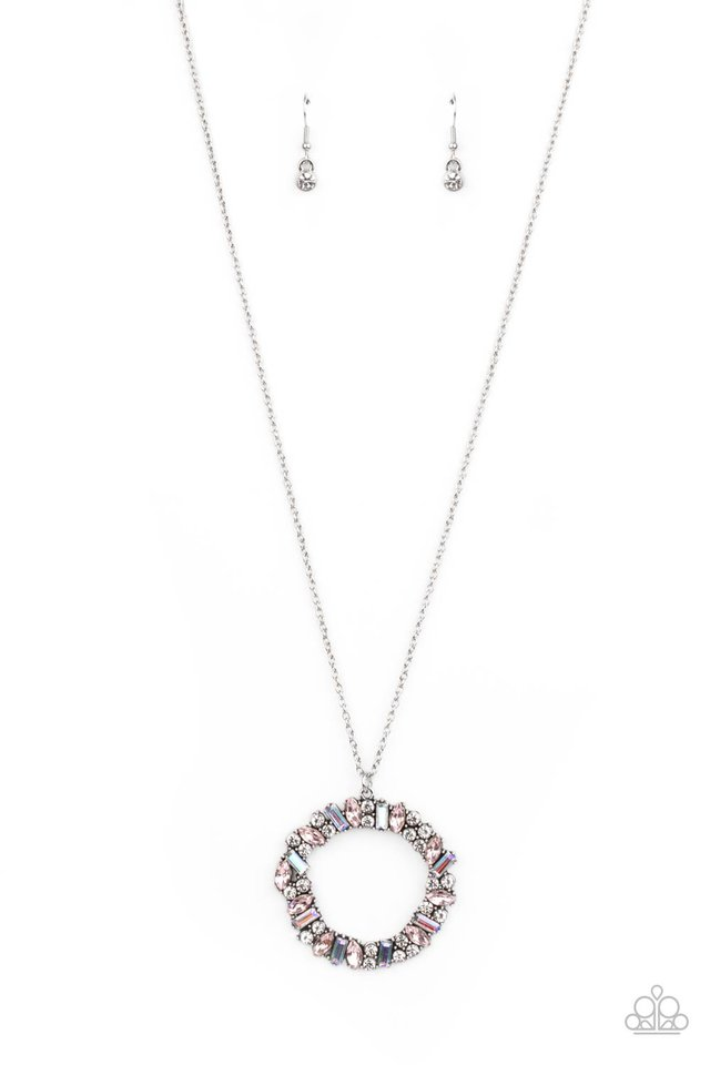 Wreathed in Wealth - Pink - Paparazzi Necklace Image