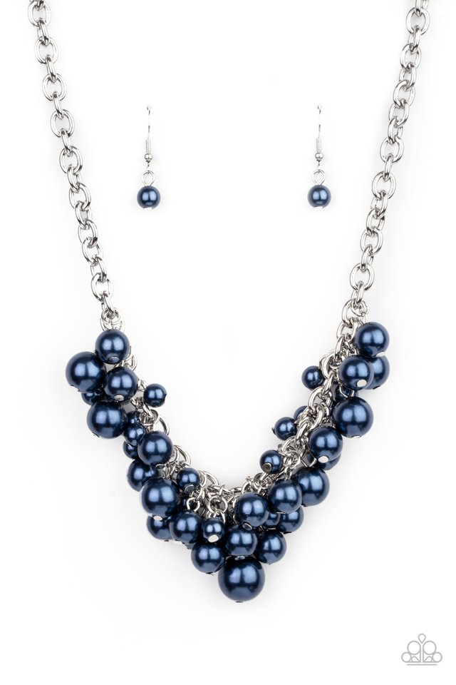 Down For The COUNTESS - Blue - Paparazzi Necklace Image