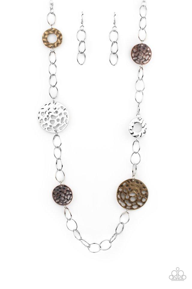 HOLEY Relic - Multi - Paparazzi Necklace Image