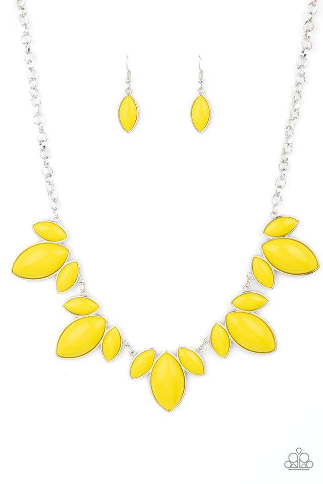 Viva La Vacation - Yellow - Paparazzi Necklace Image