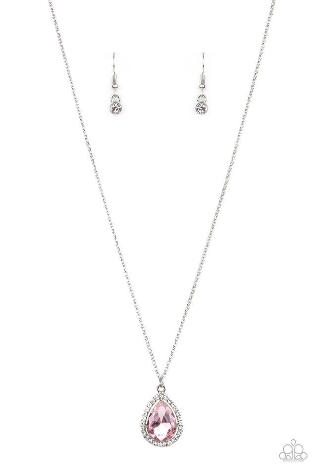Duchess Decorum - Pink - Paparazzi Necklace Image