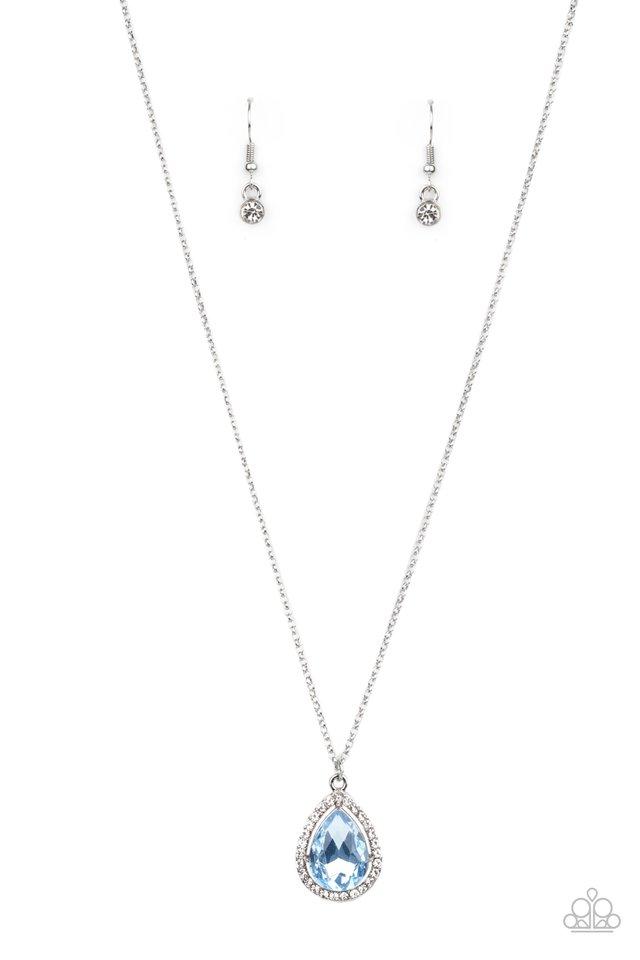 Duchess Decorum - Blue - Paparazzi Necklace Image