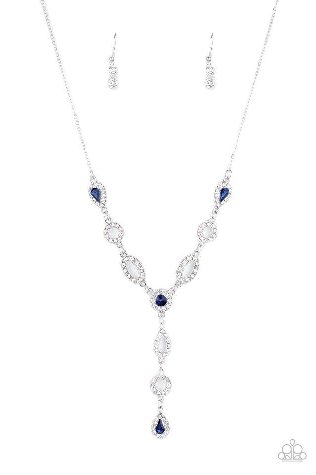 Royal Redux - Blue - Paparazzi Necklace Image
