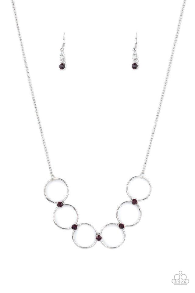 Regal Society - Purple - Paparazzi Necklace Image