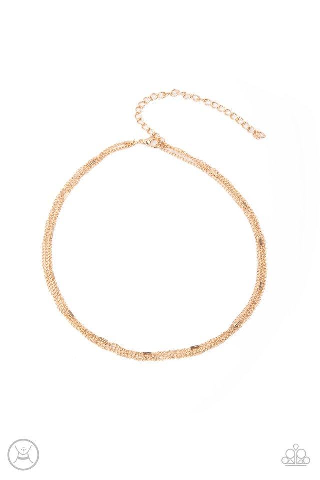 Need I SLAY More - Gold - Paparazzi Necklace Image