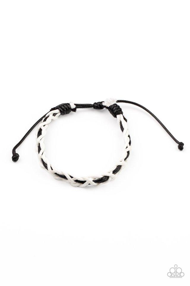 Wanderlust Vibes - White - Paparazzi Bracelet Image
