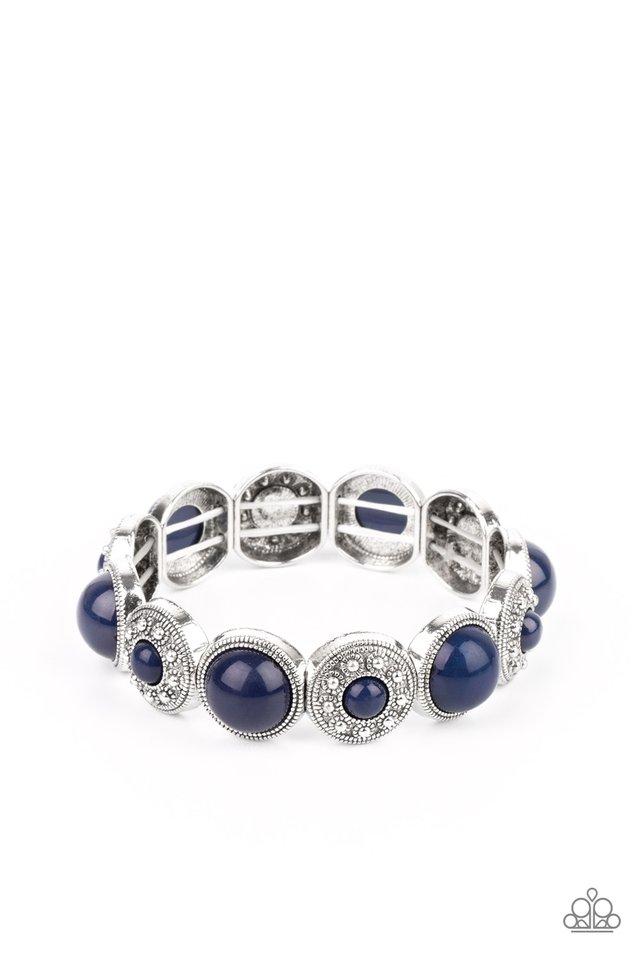 Garden Flair - Blue - Paparazzi Bracelet Image