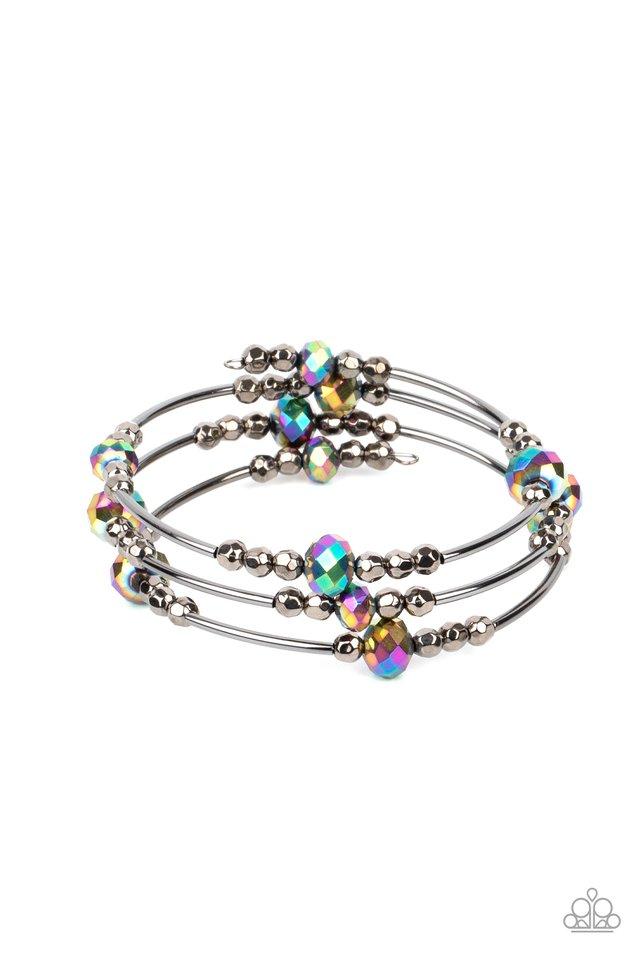 Showy Shimmer - Multi - Paparazzi Bracelet Image
