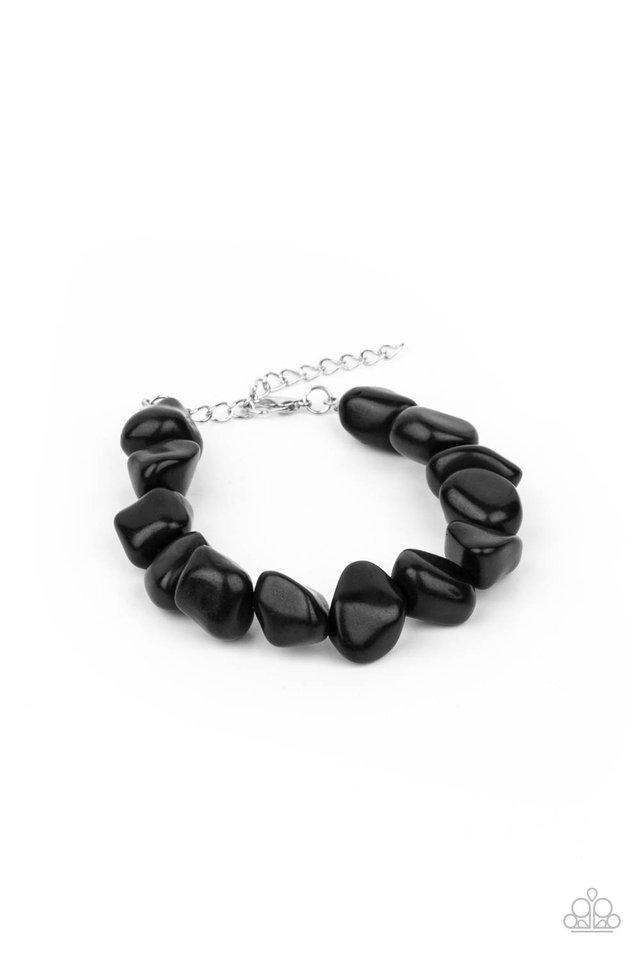 Prehistoric Paradise - Black - Paparazzi Bracelet Image