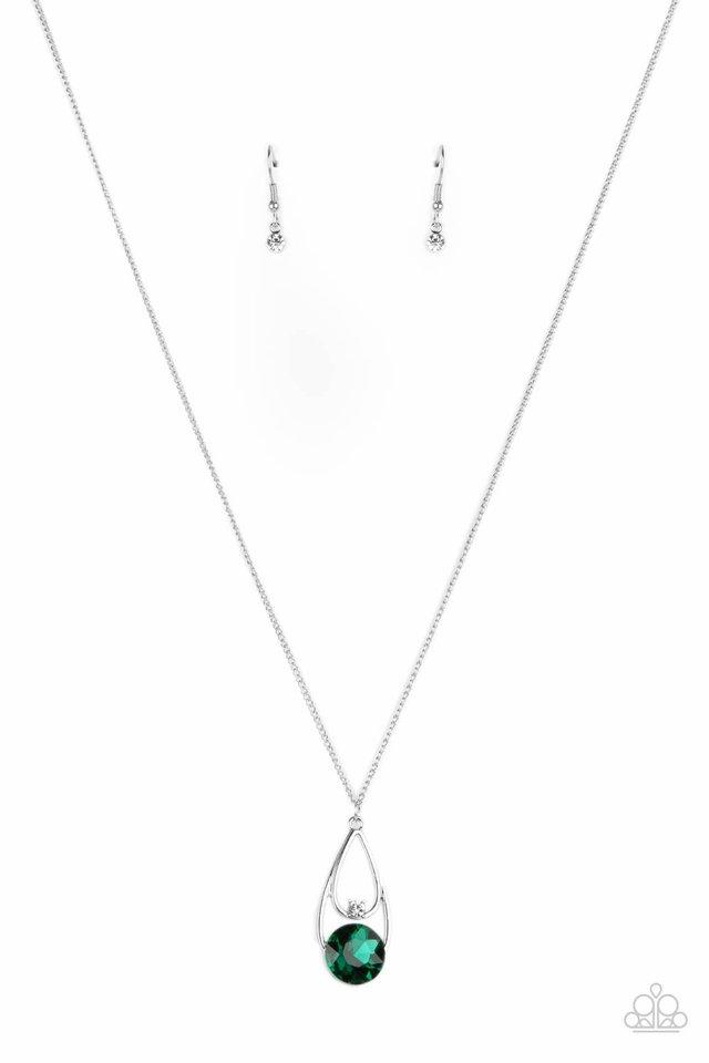 Gala Gleam - Green - Paparazzi Necklace Image