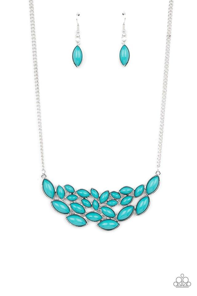Eden Escape - Blue - Paparazzi Necklace Image