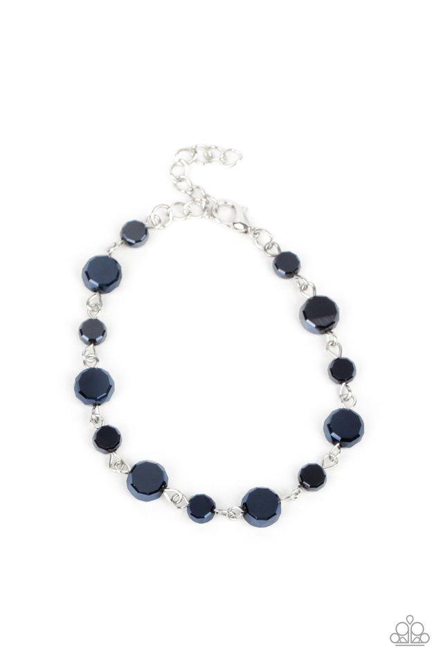 Colorfully Cosmic - Blue - Paparazzi Bracelet Image