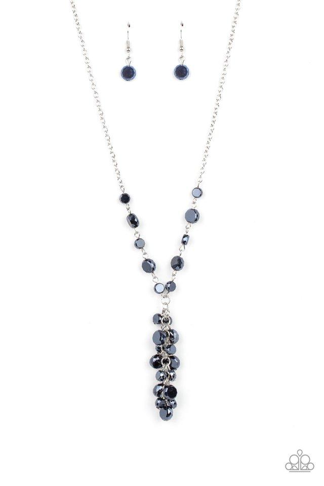 Cosmic Charisma - Blue - Paparazzi Necklace Image