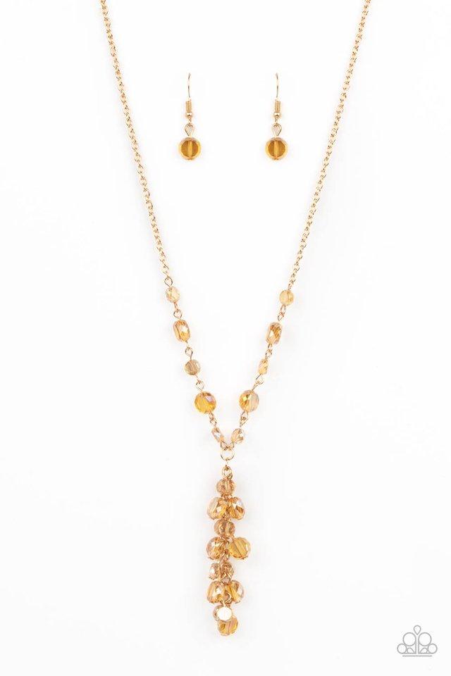 Cosmic Charisma - Gold - Paparazzi Necklace Image