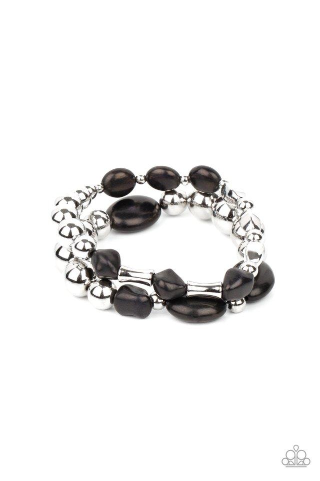 Authentically Artisan - Black - Paparazzi Bracelet Image