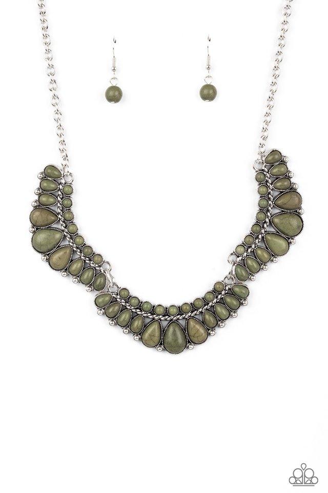 Naturally Native - Green - Paparazzi Necklace Image