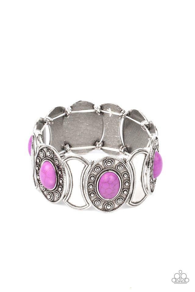 Desert Relic - Purple - Paparazzi Bracelet Image