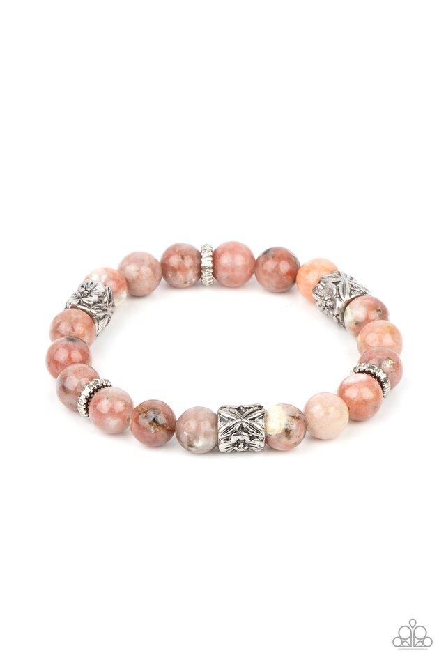 Garden Zen - Pink - Paparazzi Bracelet Image