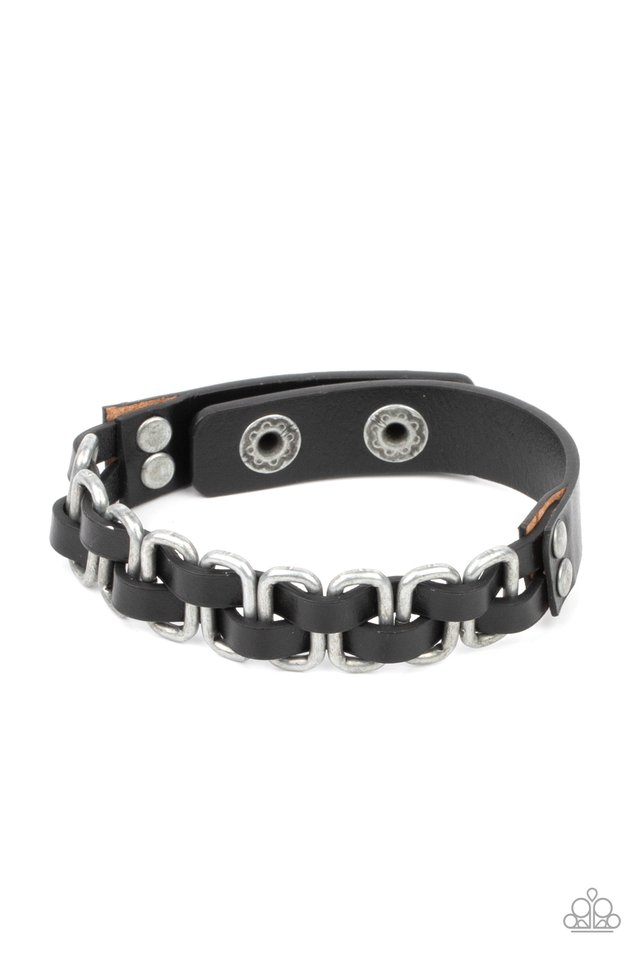 Gone Rogue - Silver - Paparazzi Bracelet Image