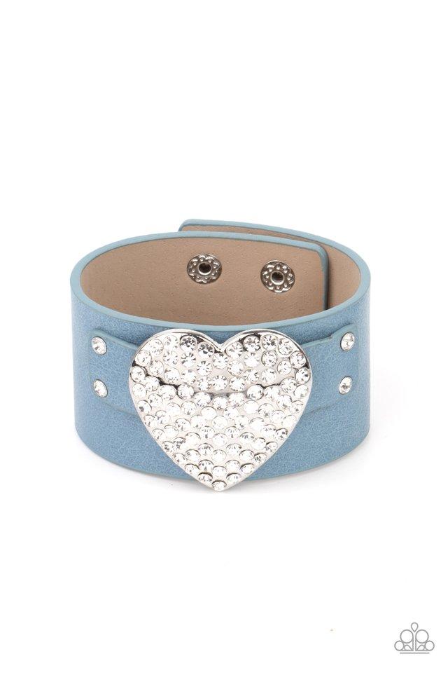 Flauntable Flirt - Blue - Paparazzi Bracelet Image