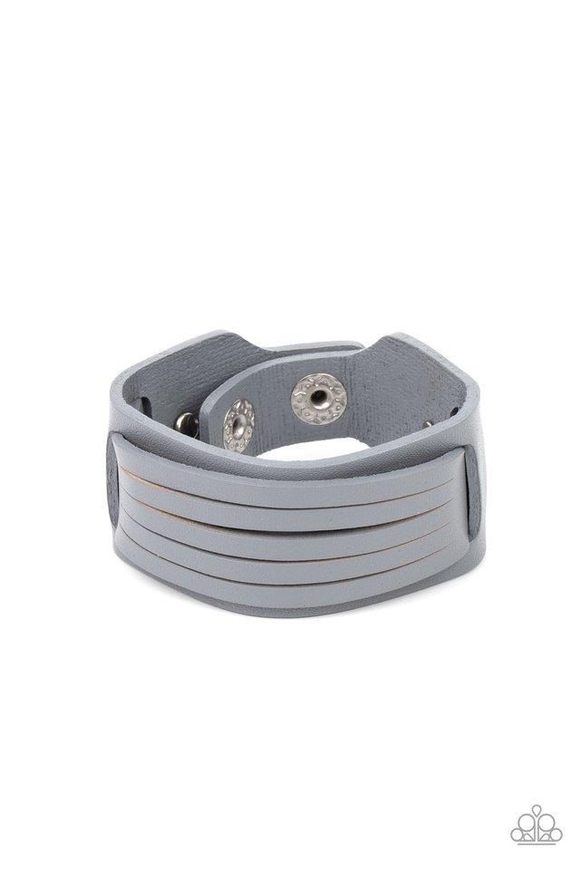Ride In Style - Silver - Paparazzi Bracelet Image