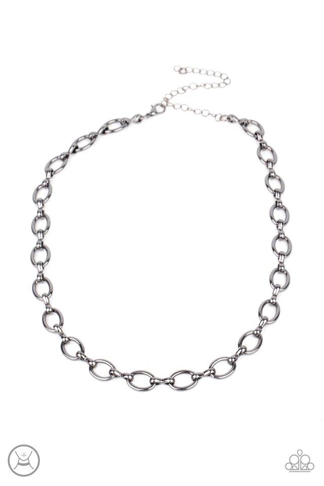 Craveable Couture - Black - Paparazzi Necklace Image