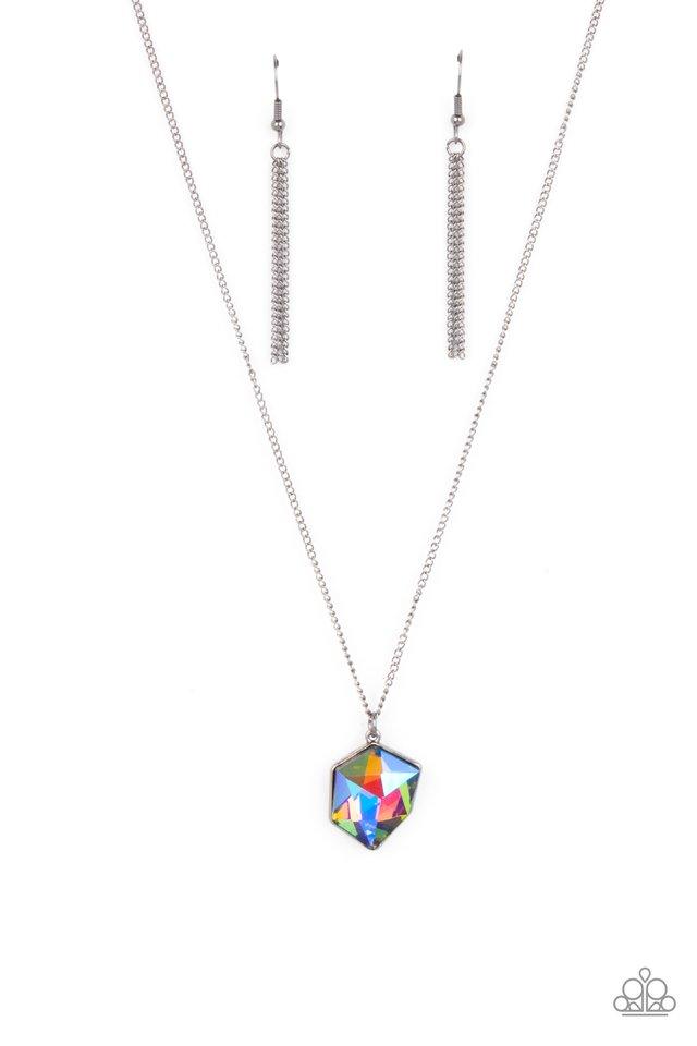 Stellar Serenity - Multi - Paparazzi Necklace Image