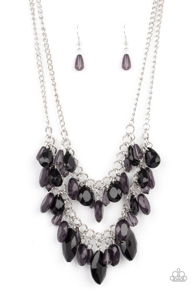 Midsummer Mixer - Black - Paparazzi Necklace Image