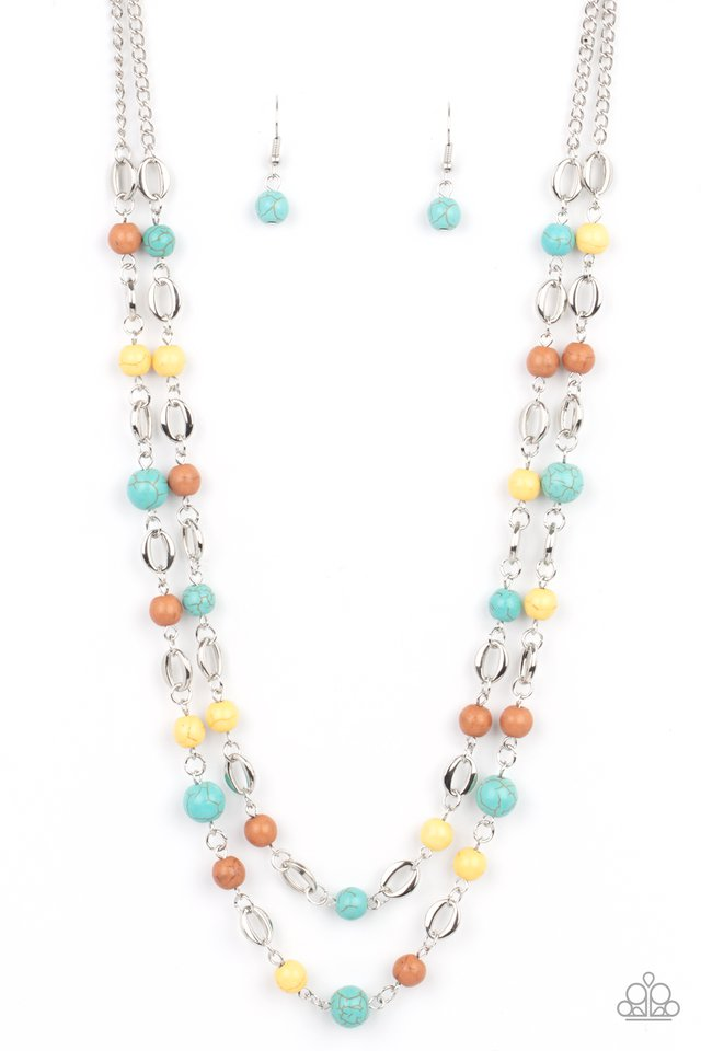 Essentially Earthy - Multi - Paparazzi Necklace Image