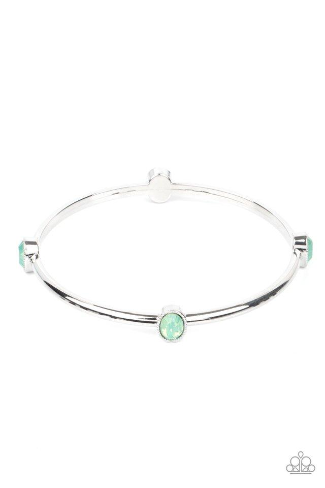 Gleam-Getter - Green - Paparazzi Bracelet Image