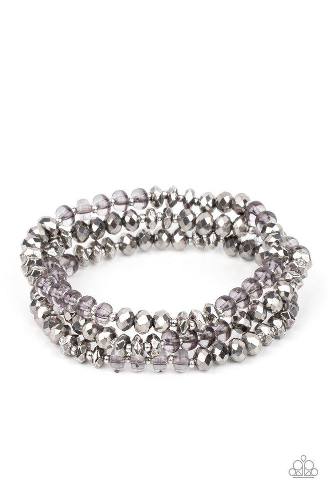 Stellar Strut - Silver - Paparazzi Bracelet Image