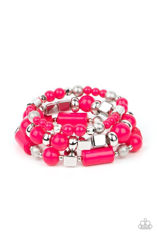 Perfectly Prismatic - Pink - Paparazzi Bracelet Image