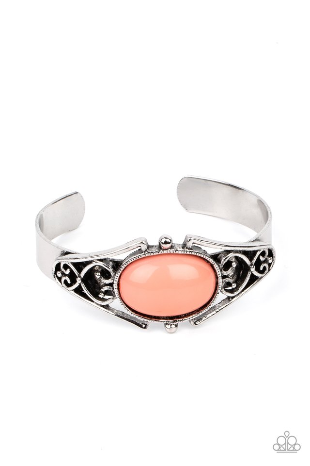 Springtime Trendsetter - Orange - Paparazzi Bracelet Image