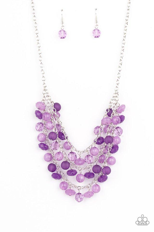 Fairytale Timelessness - Purple - Paparazzi Necklace Image
