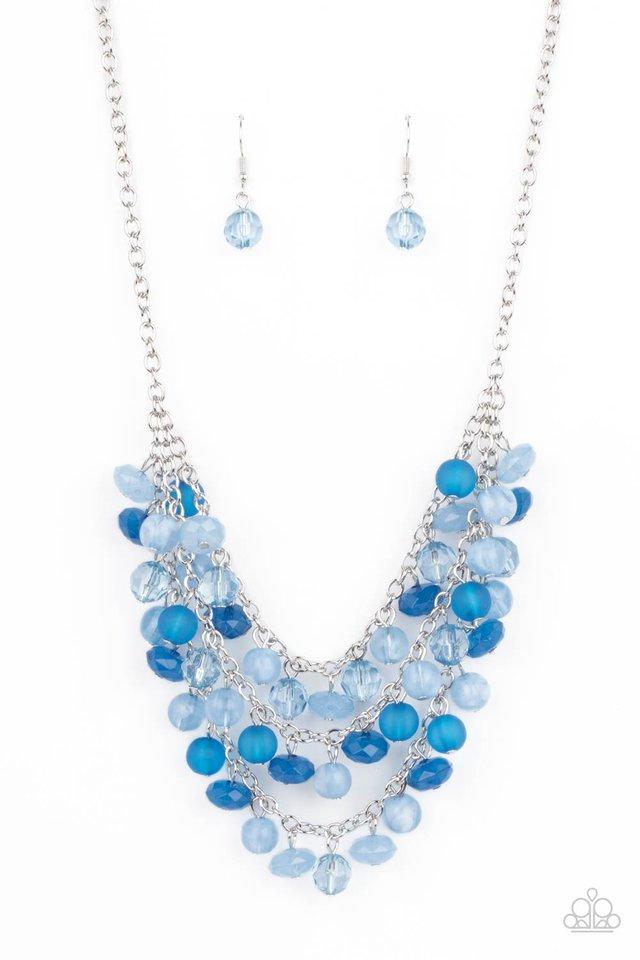 Fairytale Timelessness - Blue - Paparazzi Necklace Image