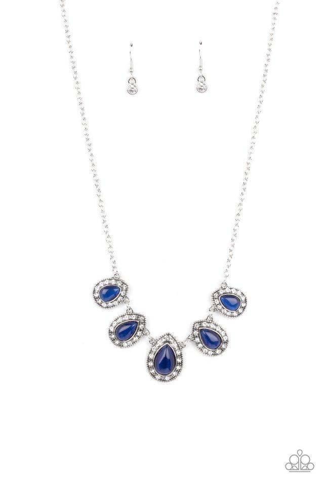 Everlasting Enchantment - Blue - Paparazzi Necklace Image
